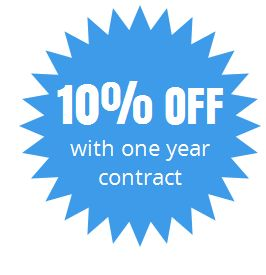 Managed Services 10% off annually